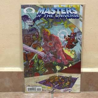 Master of the universe comic 2 April