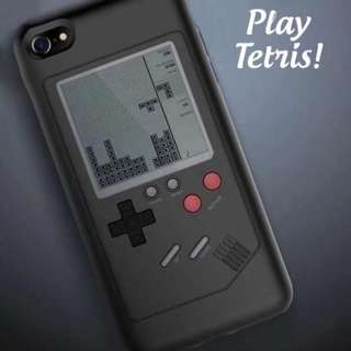 Interactive Gameboy Iphone Case with 10+ games playable!! Retro/stylish