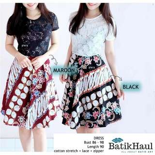 Batik Ethnic Summer Dress (type JILLY)