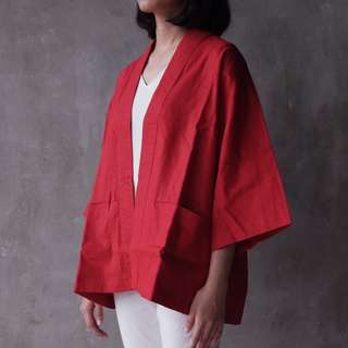 Scarlet Kimono Merah