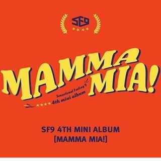 SF9 -  MAMMA MIA