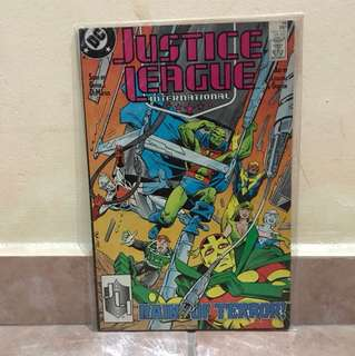 Dc comic justice league June 88