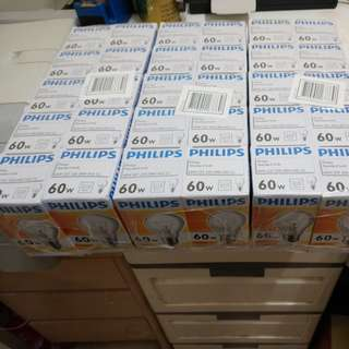 Philips 60W 鎢絲燈泡