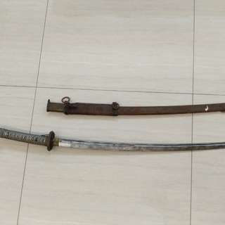 二戰日本軍刀 武士刀 katana / Sword