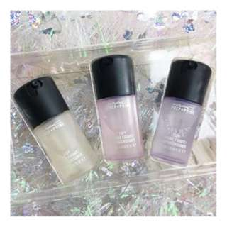 MAC COSMETICS SNOW BALL PREP + PRIME FIX+ 30ml Travel Size