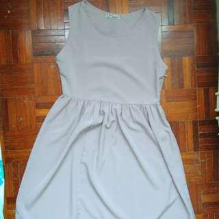 Purple Basic Dress
