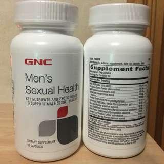 $330/2樽 😎Male Sexual Health😎 GNC Men's Sexual Health (60粒)