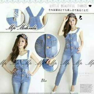Jumsuit overal jeans