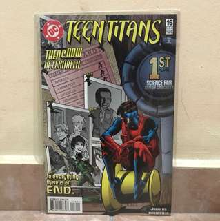 Dc comic teen Titans 1st place science fair