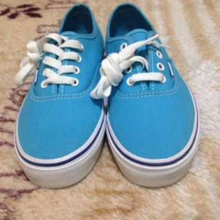 Vans authentic sky blue