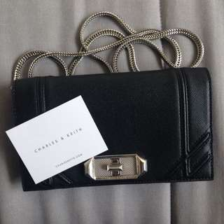BRAND NEW Charles And Keith Purse