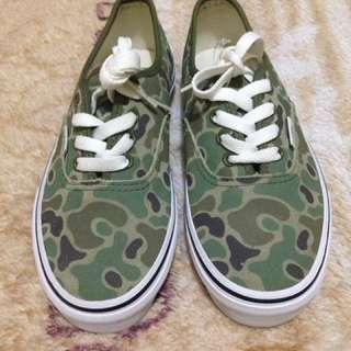 Vans Camouflage (suede)
