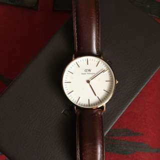 Daniel Wellington Classic St Mawes (Rose Gold)