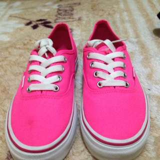 Vans Pink Authentic