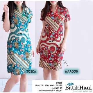 Batik Ethnic Dress type DOLLY