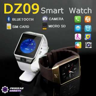 PROMOTION!!! DZ09 Bluetooth Smart Watch with Sim Card and 2.0MP Camera - Compatible with Android and iOS Smart Phones