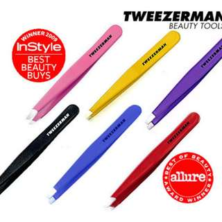 {最強眉鉗} TWEEZERMAN Slant Tweezer / Mini Slant Tweezer 多色選擇