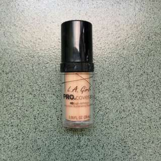 Foundation LA Girl shade natural