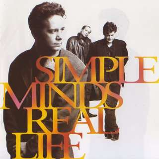 Simple Minds Real Life cd