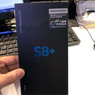 S8 plus 128gb全新未用 百老匯買有單有盒