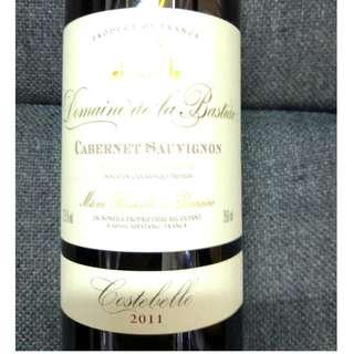 Domaine de la bastide cabernet sauvignon 2011 - 100% NEW