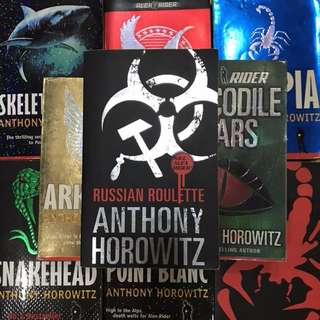 Alex Rider Series (Anthony Horowitz)