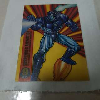 War Machine card