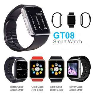 PROMOTION!!! GT08 Bluetooth Touchscreen Smart Watch with Sim Card - Compatible with Android and iOS Smart Phones