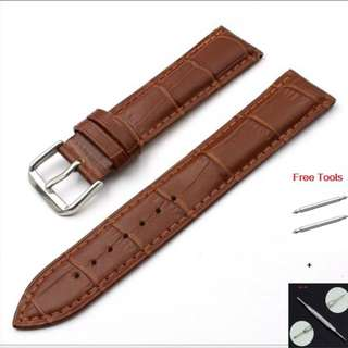 GENUINE LEATHER STRAPS