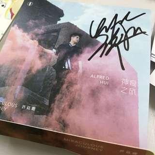 許廷鏗 神奇之旅 親筆簽名 cd