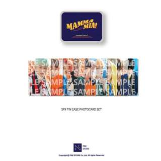 [LOOSE ITEM] SF9 MAMMA MIA! TIN CASE PHOTOCARD SET