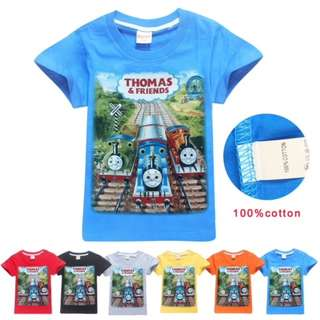 THOMAS AND FRIENDS T SHIRT BOYS TODDLER CHILDREN KIDS FASHION MANY COLOURS