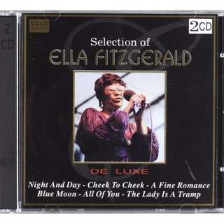 Selection Of Ella Fitzgerald double gold cd