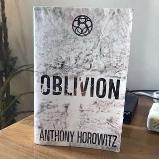 Oblivion by Anthony Horowitz