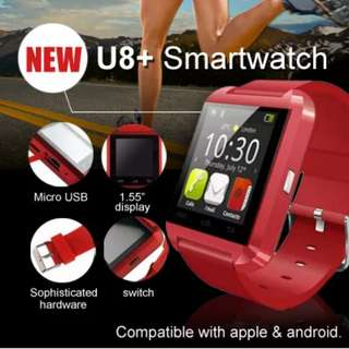 PROMOTION!!! U8+ U80 Bluetooth Smartwatch - Compatible with Android and iOS Smartphones