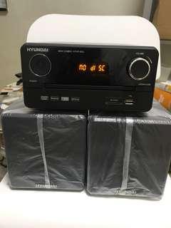 全新Hyundai 微型音響組合