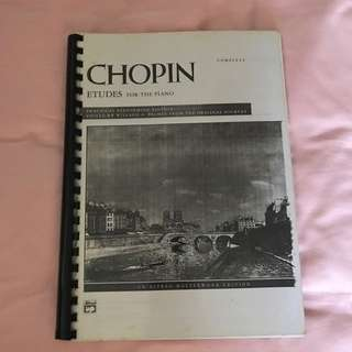 Free Mail! Chopin Etudes for piano