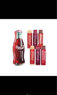 AUNTHENTIC Lip Smacker 6pcs coke tin