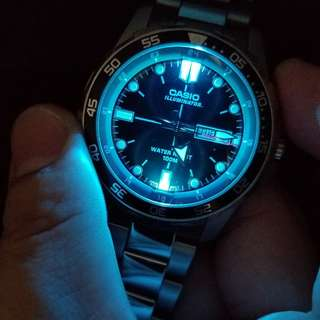 Casio黑水鬼手錶