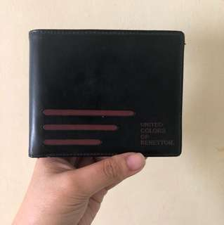 Authentic United colors of benetton wallet