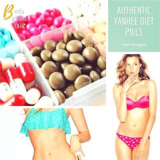 Genuine Yanhee Bangkok Weight Loss Diet Pills From Thailand