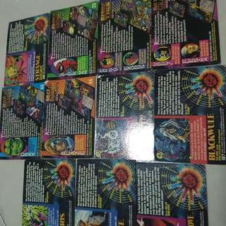 Collectible cards (2)