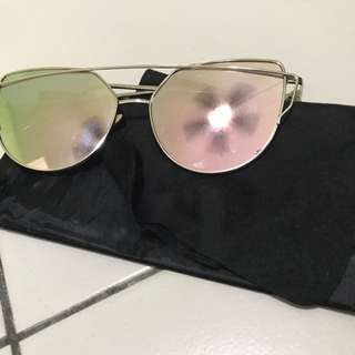 Sunglasses Pink Cat Eye