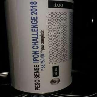 PESO SENSE IPON CHALLENG 2018
