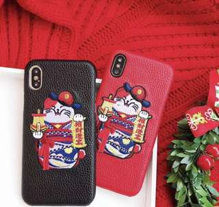 ZHAO CAI FORTUNE CAT IPHONE CASE PO