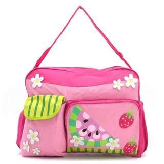 Baby Bag Diaper Nappy Bag (Pink)