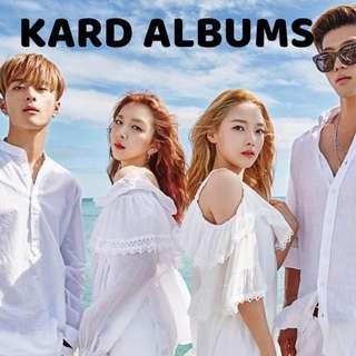 KARD ALBUMS