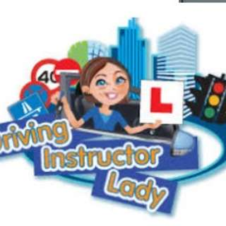 Lady private driving instructor to teach manual car at Ubi (CDC)