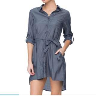Asos Grey shirt dress