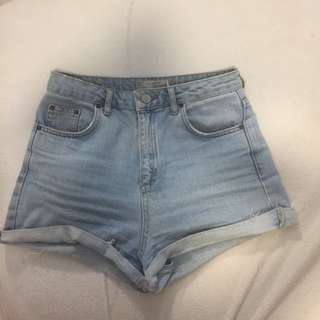 Topshop denim shorts 8